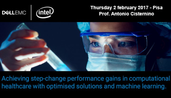 Dell EMC and Intel Life Sciences Summit - Prof. Antonio Cisternino
