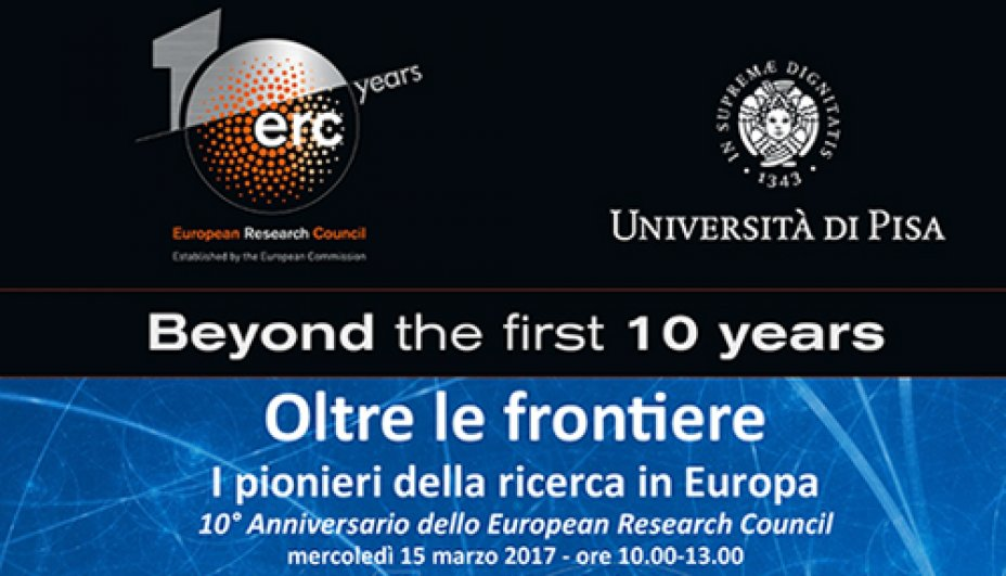 Oltre le frontiere - 10 years ERC