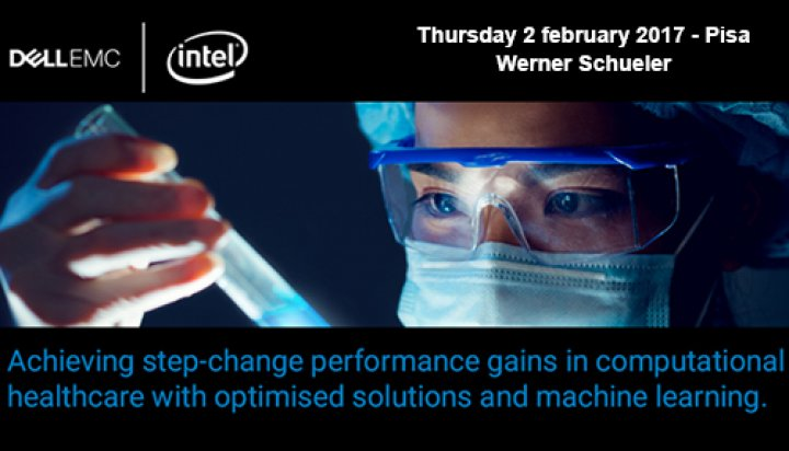 Dell EMC and Intel Life Sciences Summit - Werner Schueler