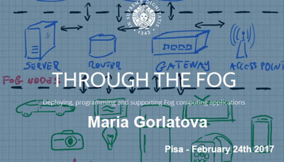 Through The Fog Project - Maria Garlatova - February 24th 2017