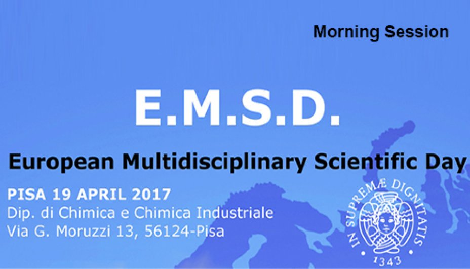 European Multidisciplinary Scientific Day 19 Aprile 2016 (mattina)