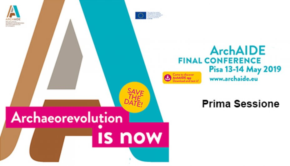 ArchAIDE - Final Conference - Prima sessione
