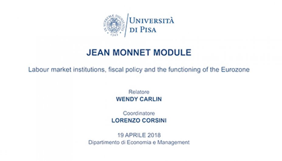 Labour market institutions, fiscal policy and functioning in EU