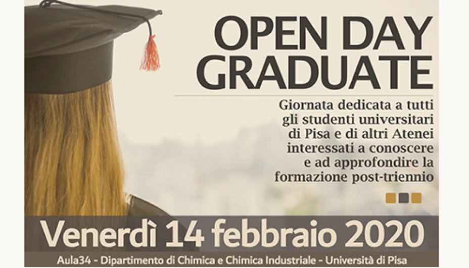 Open Day Graduate Chimica
