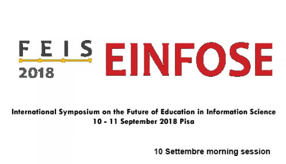 FEIS Einfose 2018 10 Settembre morning session