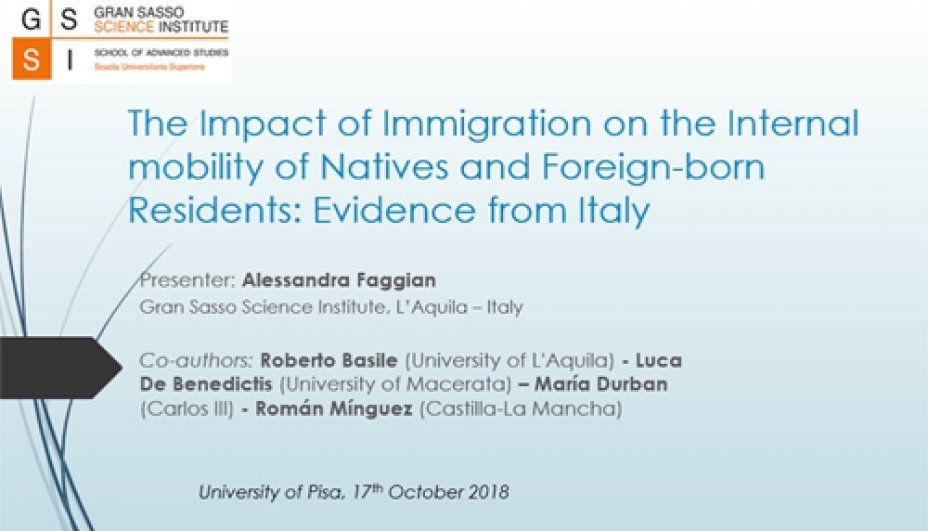 The Impact of Immigration on the Internal mobility of Natives and Foreign-born Residents: Evidence from Italy