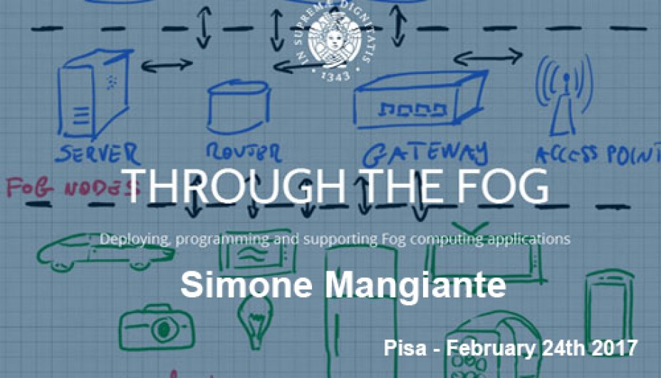 Through The Fog Project - Simone Mangiante - February 24th 2017