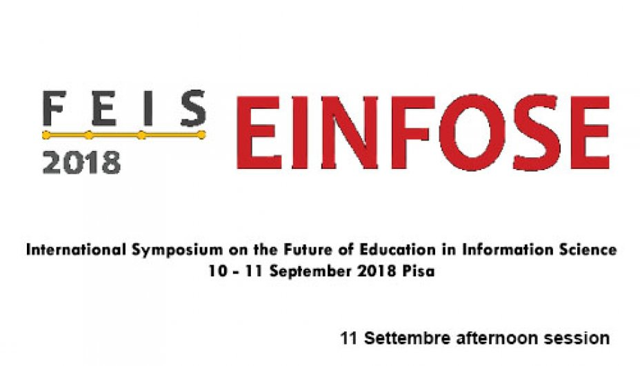 FEIS Einfose 2018 11 Settembre afternoon session