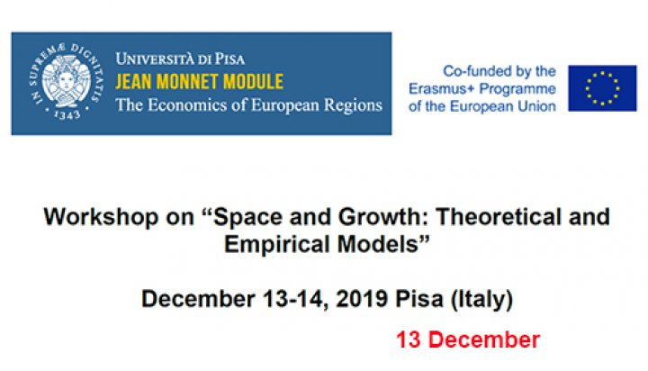 Space and Growth: Theoretical and Empirical models - Part One