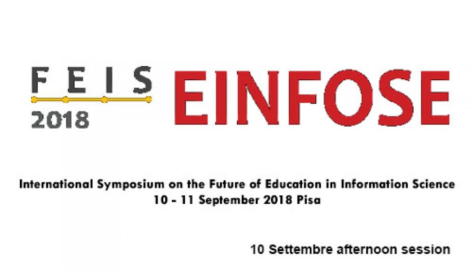 FEIS Einfose 2018 10 Settembre afternoon session