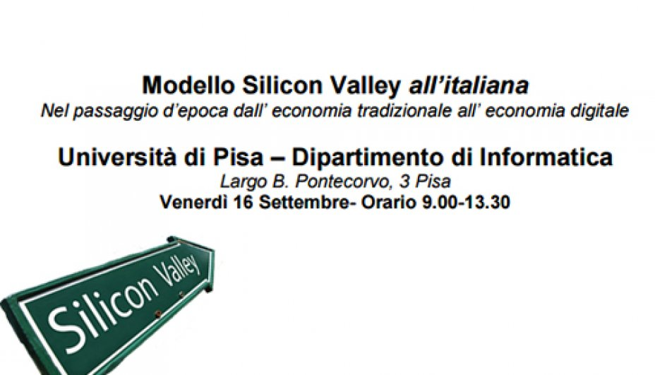 Modello Silicon Valley all'italiana