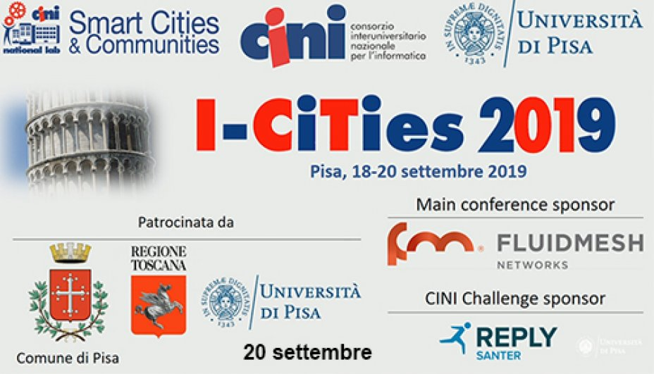 I-Cities - 20 settembre 2019