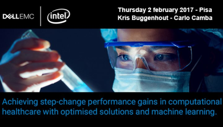 Dell EMC and Intel Life Sciences Summit - Kris Buggenhout & Carlo Camba