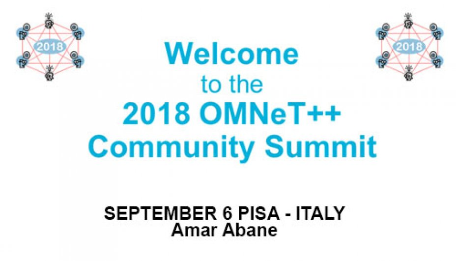 Summit workshop Omnet++ - Amar Abane - September 6